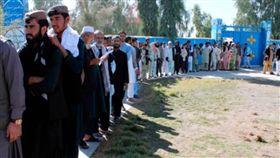 大選不平靜!阿富汗大選傳自殺攻擊 至少釀15死 圖/翻攝推特