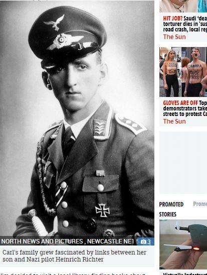 英國,前世,納粹,男童https://www.thesun.co.uk/news/7541268/luftwaffe-pilot-reincarnated-middlesbrough-boy-nazi/