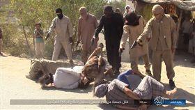 敘利亞,恐佈份子,IS,人質,處決(圖/翻攝自「Terrormonitor.org」推特)