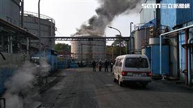 雄林園區北汕路一間石化廠傳出火警