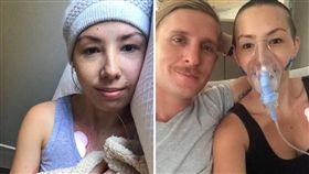 澳洲一名27歲女子露西(Lucy Wieland)日前在Instagram上苦訴抗癌歷程,並希望網友們能發揮愛心捐助,讓她能負擔昂貴的醫藥費。不過多久,露西在網上募得5萬5000澳元(約新台幣123萬元),但事後有網友爆出露西根本沒病,剃髮化療全都是演的!(圖/翻攝自《lu_wieland》IG)