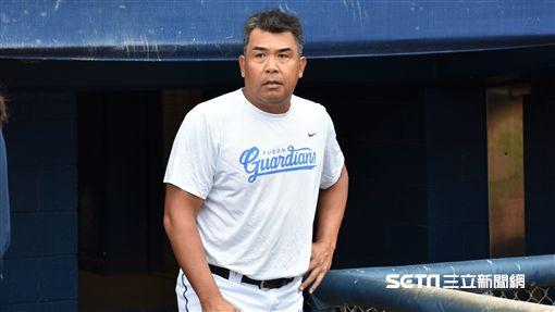 富邦悍將總教練陳連宏。(圖/記者王怡翔攝影)