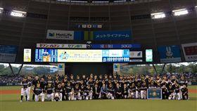軟銀擊敗西武前進日本大賽。(圖/翻攝自軟銀推特)