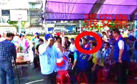 侯友宜鶯歌聯合競總造勢大會張安樂在現場,來源臉書