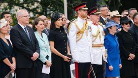 哈利王子,梅根,澳洲,英國皇室(圖/翻攝自The Royal Family Twitter)