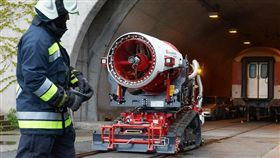 AirCore消防機器人。(圖/翻攝網站)