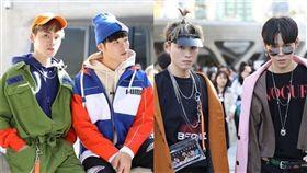 雙胞胎兄弟展榮、展瑞 參加首爾時裝周。(翻攝IG)