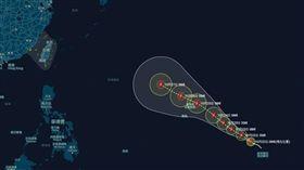 玉兔颱風,颱風,強颱,台灣颱風論壇|天氣特急