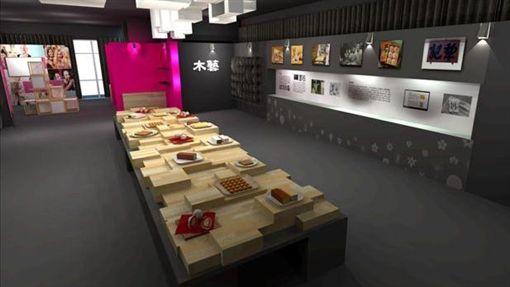 花博豐原「囍香逢館」 六大展區述說台中糕餅文化(圖/台中市政府提供)
