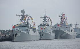 中國東協首度舉行海上聯合軍演