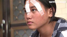 一心救人!勇敢13歲陽宴筠 負傷報案救同學