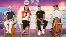 盧曉晴(左2)期許將冠軍留在台灣。(圖/主辦單位提供)