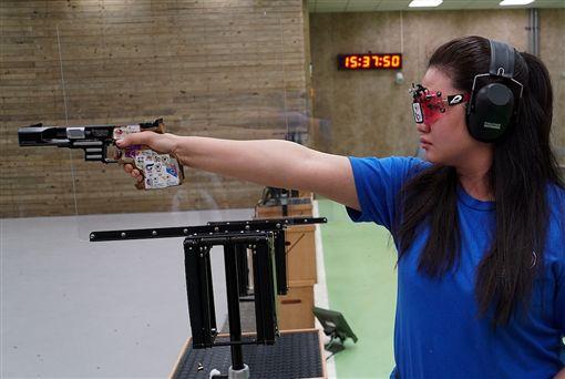 ▲陳俊安以246.7分拿下男子10公尺空氣步槍金牌。(圖/大會提供)