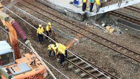 台鐵,普悠瑪,搶修,雙向通車(圖/翻攝自臺灣鐵路管理局臉書)