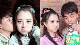 張峰奇被爆出跟《戲說台灣》的李亮瑾熱戀中。(翻攝臉書)