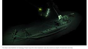(圖/翻攝自NPR)古代,沉船,古希臘,黑海,鬼船墓場
