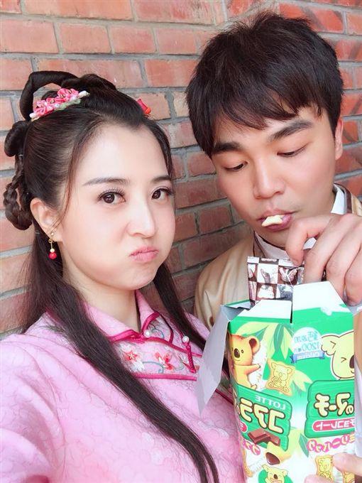 張峰奇、小甜甜(張峰奇、小甜甜臉書)