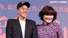 徐譽庭帶領《是誰先愛上他的》主要演員出席記者會。(圖/記者林士傑攝影)