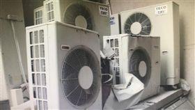 工安意外,冷氣工,台南/翻攝畫面