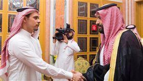 (圖/翻攝自推特)沙烏地阿拉伯,謀殺,記者,哈紹吉,穆罕默德,哀悼,薩拉