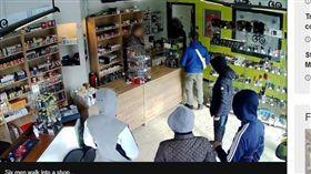 比利時,搶匪,搶劫,打烊,聽話(圖/翻攝自BBC)