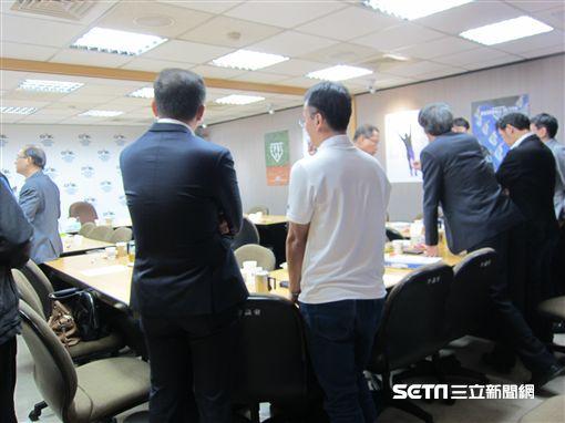▲中華職棒召開常務理事會。(圖/記者蕭保祥攝影)