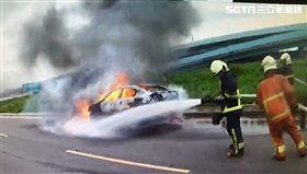火燒車,桃色,劈腿,板橋,翻攝畫面