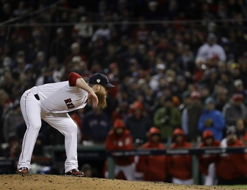 ▲波士頓紅襪終結者Craig Kimbrel。(圖/美聯社/達志影像)