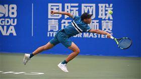 曾俊欣青少年大師賽取得2連勝。(圖/翻攝自ITF官網)