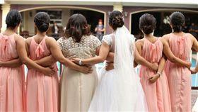 新娘,伴娘,婚禮(圖/PIXABAY)