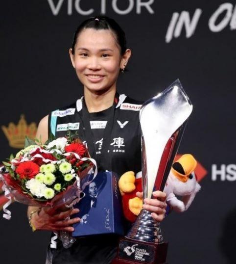 繼中國李雪芮後,戴資穎第2位積分突破10萬大關的女單球員。(圖/翻攝自BWF官網)