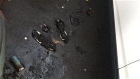 北市男子清晨自焚 全身90%三度灼傷送醫急救 圖/民眾提供