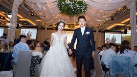 曾玄玄結婚,新娘,婚紗(曾玄玄提供)