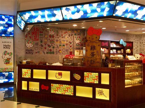 紅櫻花Hello Kitty伴手禮-台北101JASONS超市店正式開幕(圖/業配)