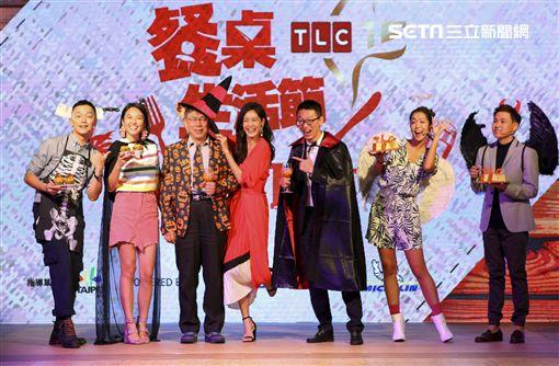 Janet、大霈、湘婷、Soac及Anton Amooncio、柯文哲 圖/記者林士傑攝影