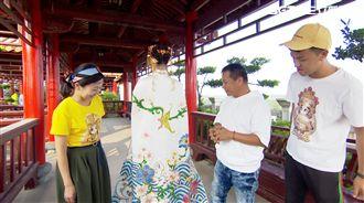 廟宇彩繪配時尚 躍進國際時裝設計展