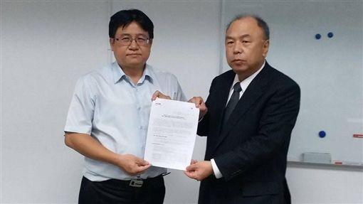 營署長吳欣修、日商KYB代表。(圖/營建署提供)