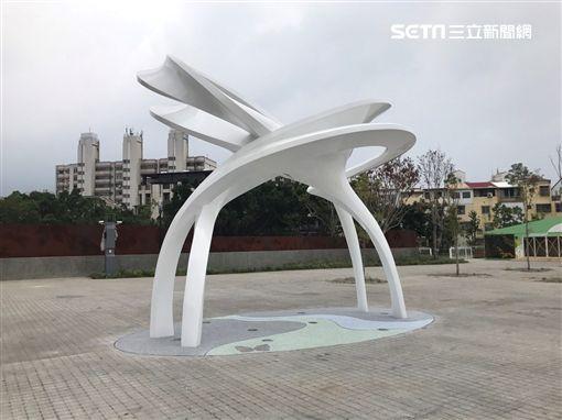 花博四大裝置藝術(圖/台中市政府提供)