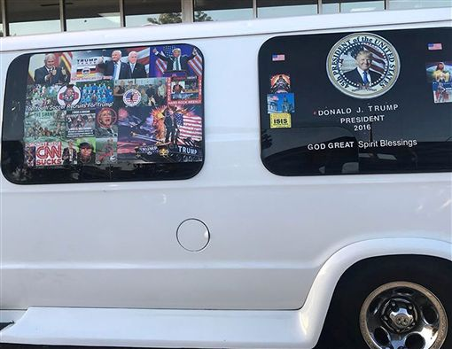 美國郵包炸彈客嫌犯塞尤(Cesar Sayoc Jr.)是川普支持者,已被逮捕。(圖/路透社/達志影像)