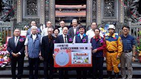 龍山寺,住警器,捐贈,救災器材,台北市消防局