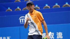 曾俊欣逆轉取勝,闖進最後冠軍戰。(圖/翻攝自ITF官網)