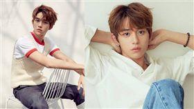韓團「NCT」香港成員黃旭熙(Lucas)有著俊秀外表。(圖/翻攝自黃旭熙IG)