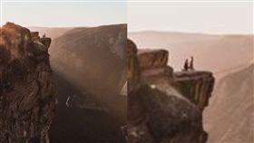 優勝美地,墜崖,攝影,求婚,美國,公園,遊客,懸崖,自殺,意外 圖/翻攝自Matthew Dippel臉書 https://goo.gl/1MAA5f