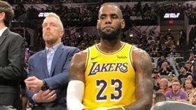 詹皇35分無用 馬刺波總1200勝 NBA,洛杉磯湖人,LeBron James,聖安東尼奧馬刺,Gregg Popovich 翻攝自推特
