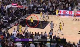 朗多籃下不出手成戰犯 詹皇這樣解釋 NBA,洛杉磯湖人,LeBron James,Rajon Rondo,戰犯 翻攝自推特
