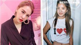 黃小柔28日曬出「4 in Love」時期舊照,釣出楊丞琳。(翻攝IG) 來源 新媒體