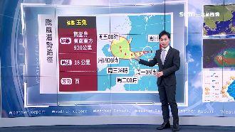 中南部溫差十度 周三北部防共伴大雨