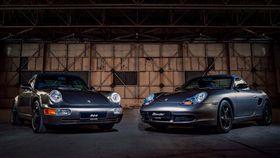 Porsche Boxter與964。(圖/翻攝網站)