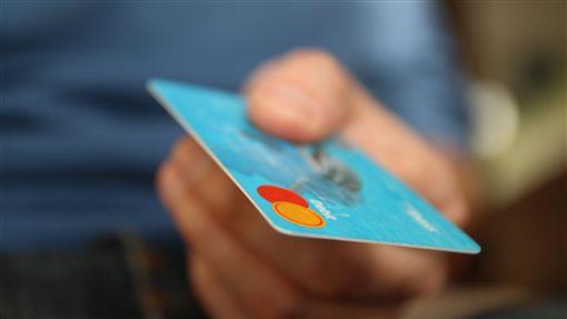信用卡,刷卡圖/Pixabay