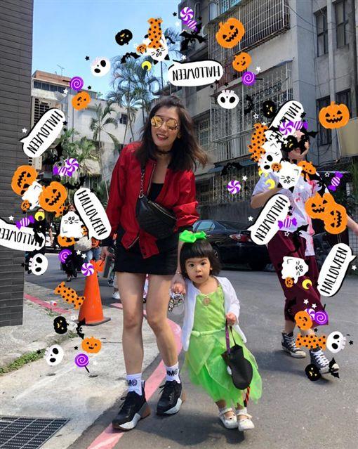 賈靜雯、咘咘、BO妞/臉書